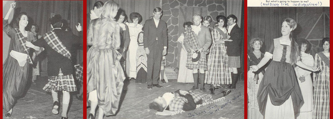 Sul Ross Music & Drama Departments stage Brigadoon in 1965