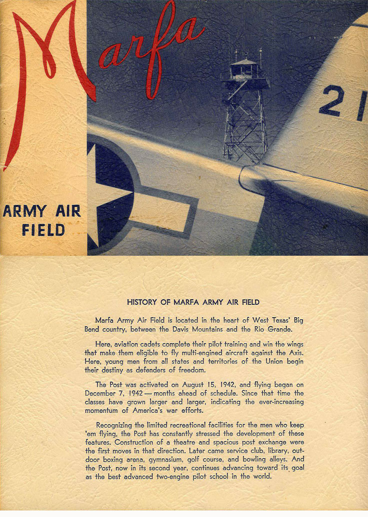 picture from Marfa Army Air Field  1944