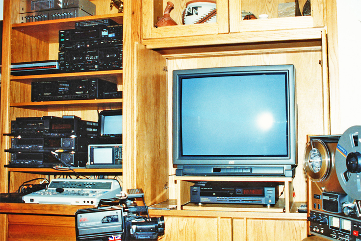 Late '70's to mid '90's editing equipment for Phantom productions, Inc.