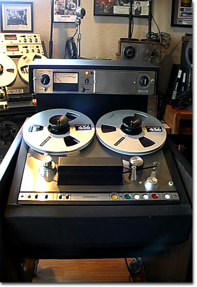 picture of Ampex AG440 console