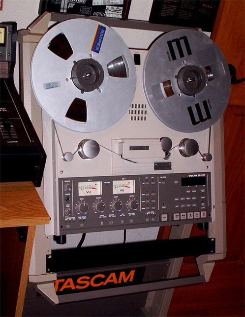 Tascam BR-20T in vintage reel to reel recorder collection